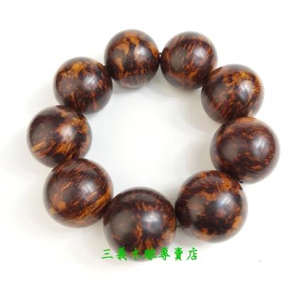 黃花梨念珠 原木手珠 木製佛珠(28mm)
