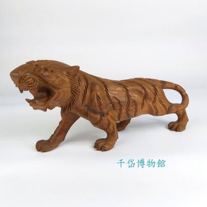 老虎-牛樟木