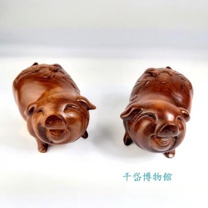 福豬-花梨木 祝福
