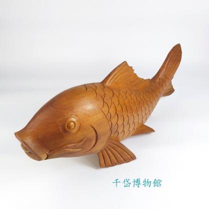 鯉魚-紅檜木