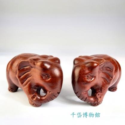 大象~花梨木 富貴吉祥