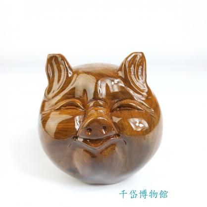 圓滿豬/福氣豬/Q版豬-肖楠木