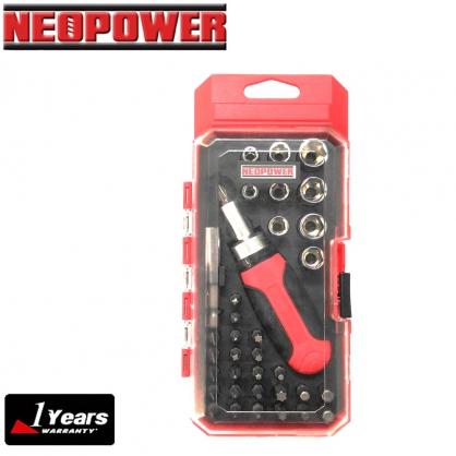 【NEOPOWER】 手工具 超值36合1配件組