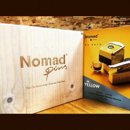 Nomad 行動咖啡機