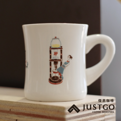 如固 LU COOL LU GOOD 陶瓷馬克杯(280c.c)