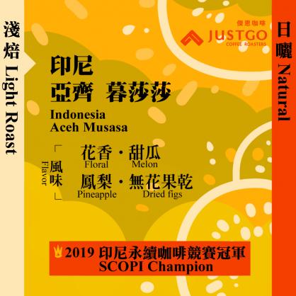 [Light Roast] Indonesia 2019 SCOPI Champion Aceh Musasa [Natural]
