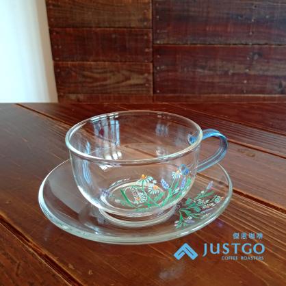 YAMA 綠葉、香草花茶杯