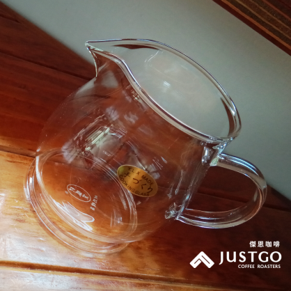 財盛窯 時尚耐熱茶海下壺(花、茶玻璃器皿)