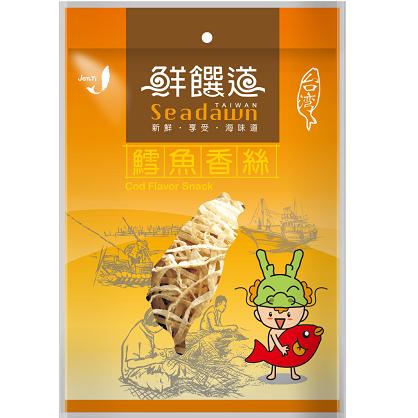 鮮饌道-鱈魚香絲140g