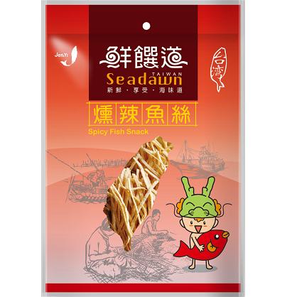 鮮饌道-燻辣香絲120g