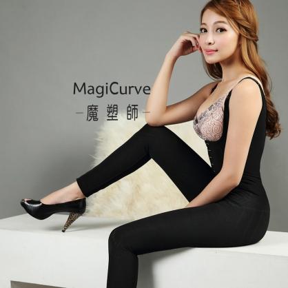 【MagiCurve 魔塑師】GE-014 高丹尼雙層連身束衣 長褲(產後塑身衣 /產後束腹) #大腿抽脂/提臀束褲