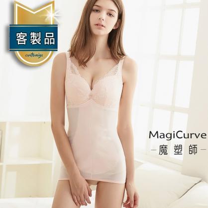 【魔塑師】B-011 高丹尼雙層連身束衣短褲型(腹部抽脂/產後束腹)