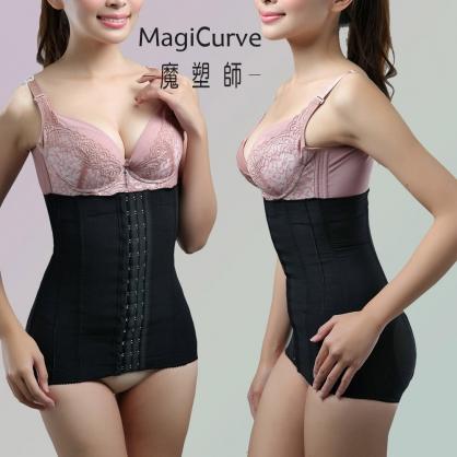 【魔塑師】W-033A 束腹長腰夾 (產後束腹/腹部抽脂) MagiCurve超長腰夾