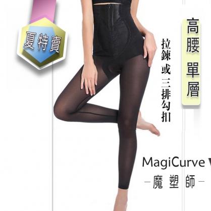 【夏特價 魔塑師】可修改 P-046 高丹尼單層束腹高腰長束褲 (大腿抽脂 / 腹部抽脂/產後束腹)