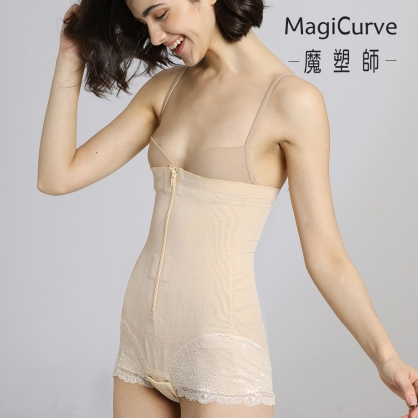 【MagiCurve 魔塑師】A-065高丹尼束腰平角褲 (腹部抽脂/產後束腹)