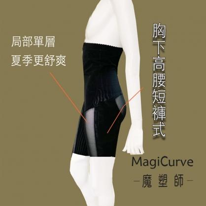 【#可修改 魔塑師】Z-015 雙層560男士 高腰塑腰腹 短褲型 (腰腹抽脂 手術後束衣)