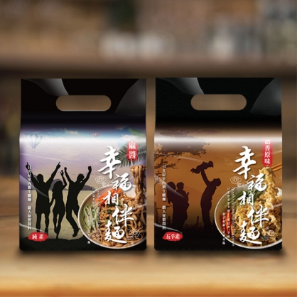 超商取貨免運-不辣推薦組合-麻醬(純素)+原味(五辛素)  共2袋 / 8入
