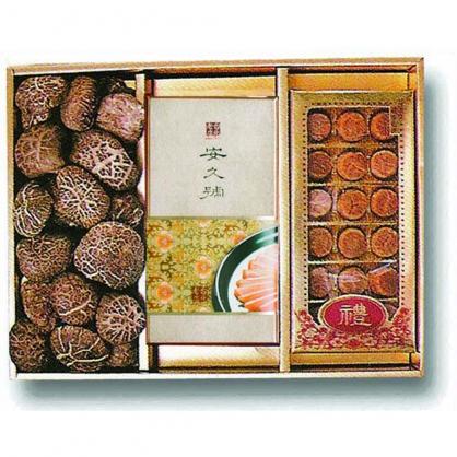 日本特級花菇/烏魚子/干貝 禮盒