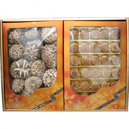 日本特級花菇/干貝 禮盒